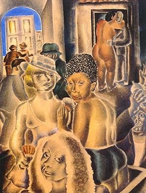 Mangue - Di Cavalcante e suas principais pinturas ~ Pintando a realidade brasileira
