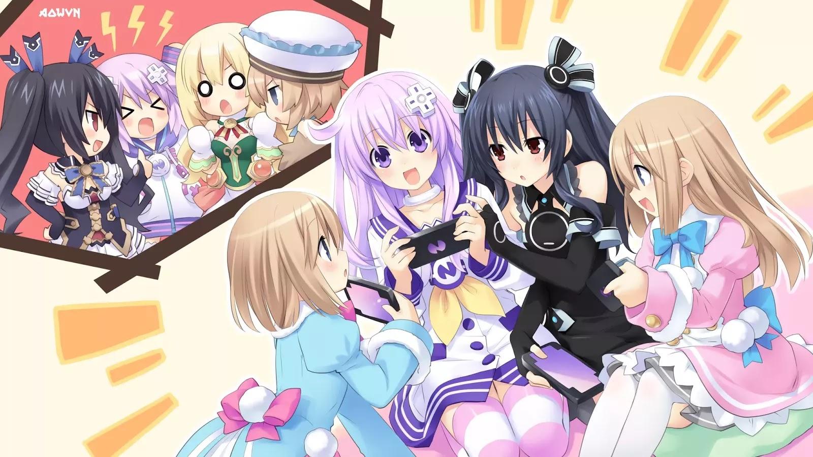 AowVN.org min%2B%252860%2529 - [ Hình Nền ] Game Hyperdimension Neptunia cực đẹp | Anime Wallpapers
