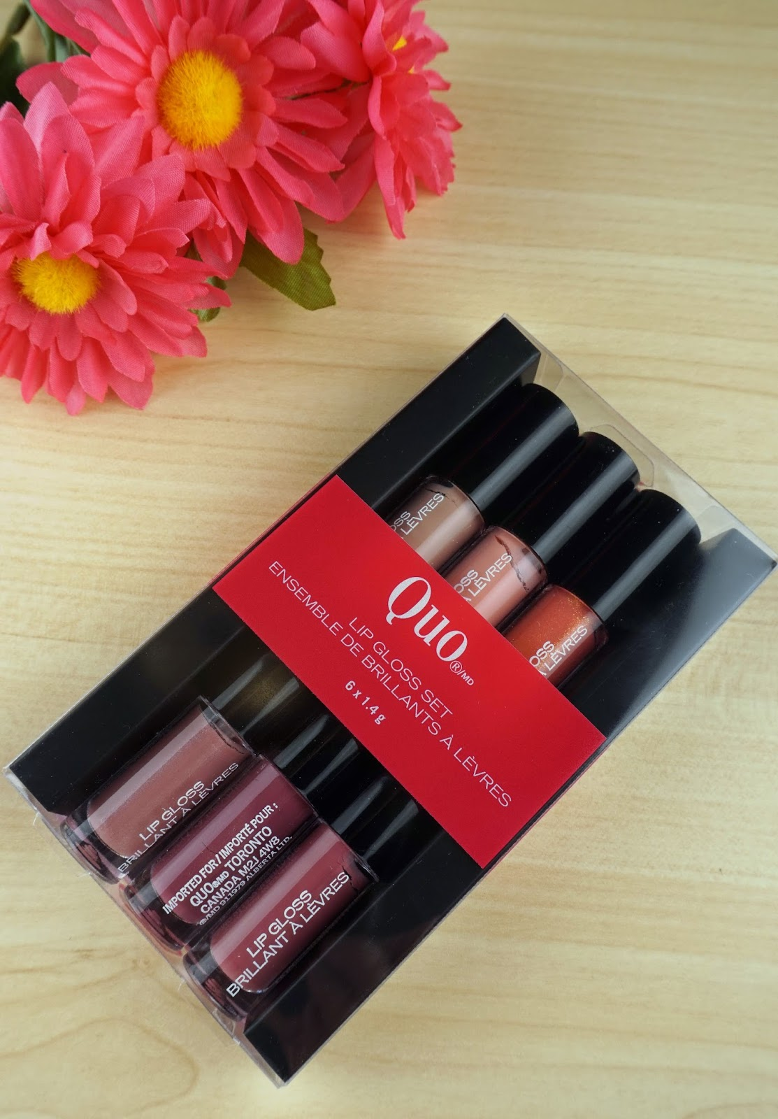 Quo Lip Gloss Set – Review and Swatches