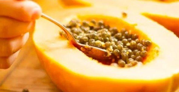 Papaya Seeds for Detoxify Liver