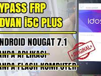 CARA BYPASS FRP LOCK ADVAN I5C PLUS NOUGAT 7.0 YANG TERKUNCI AKUN GOOGLE TANPA APLIKASI