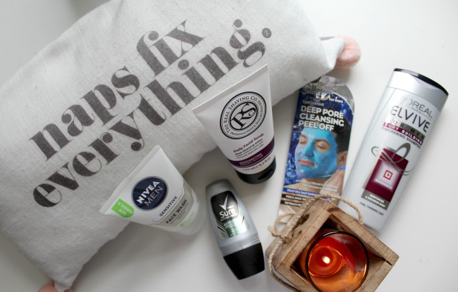 Can I enter the 'male blogging awards' now?: switching to male toiletries. Nourish ME: www.nourishmeblog.co.uk