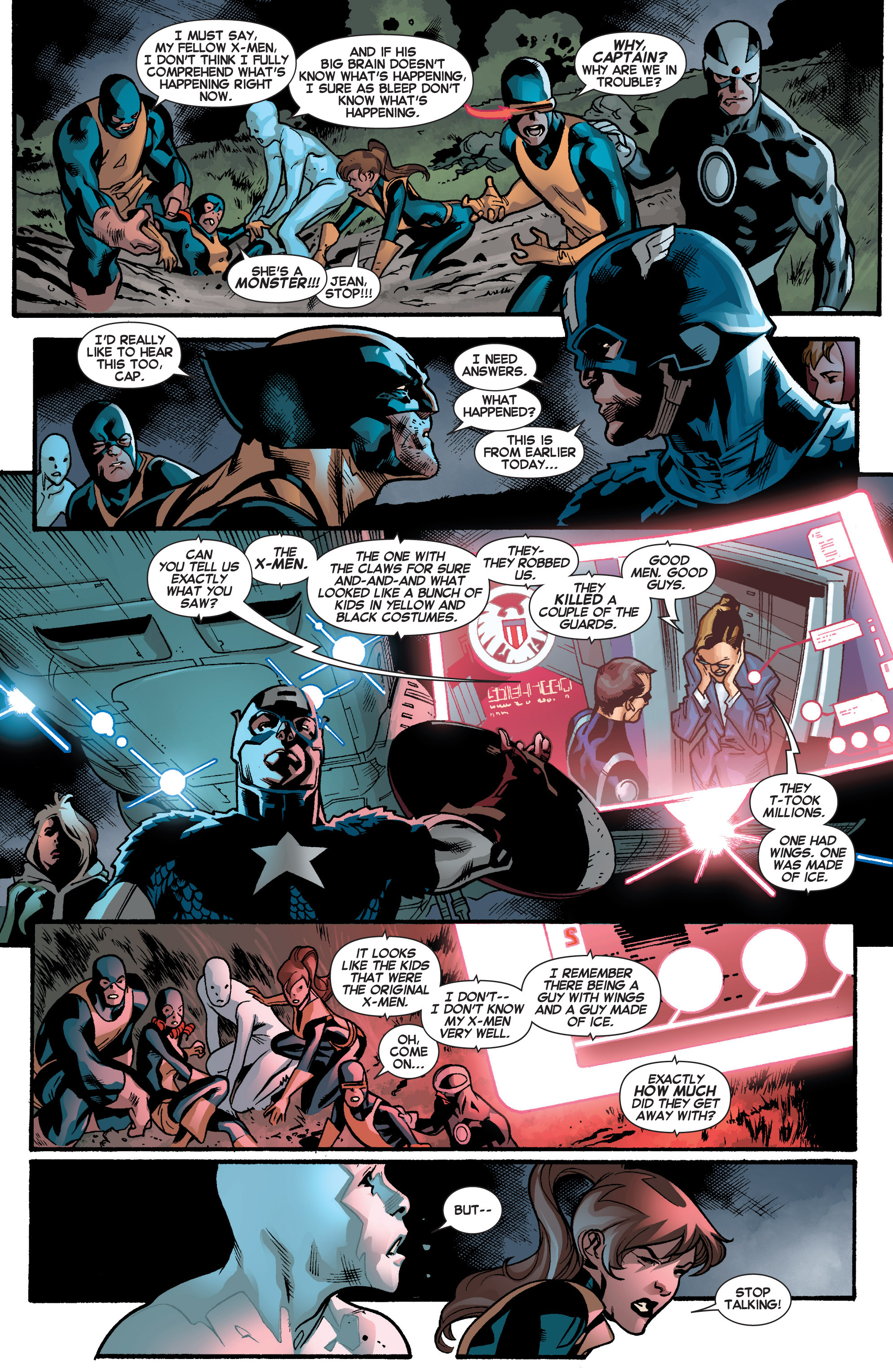 Read online All-New X-Men (2013) comic -  Issue # _Special - Out Of Their Depth - 40