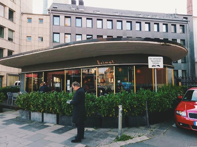 Restaurant Heimat in Frankfurt.
