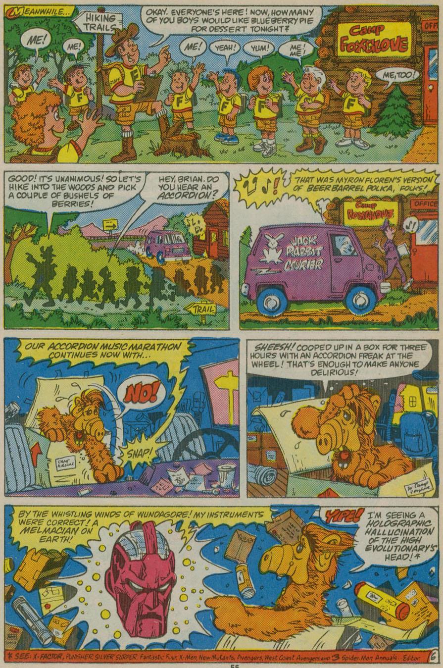 Read online ALF comic -  Issue # _Annual 1 - 49