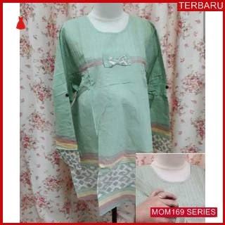 MOM169B15 Baju Atasan Hamil Tunik Menyusui Bajuhamil Ibu Hamil