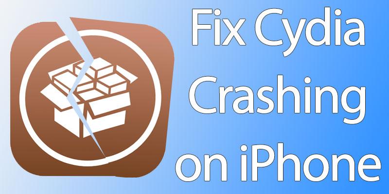 cydia crashing on startup