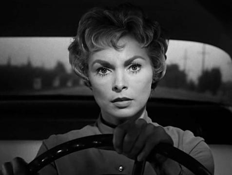 Marion Crane (Janet Leigh) en Psicosis - Cine de Escritor