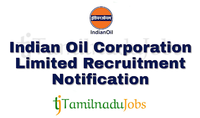 IOCL Recruitment notification of 2018