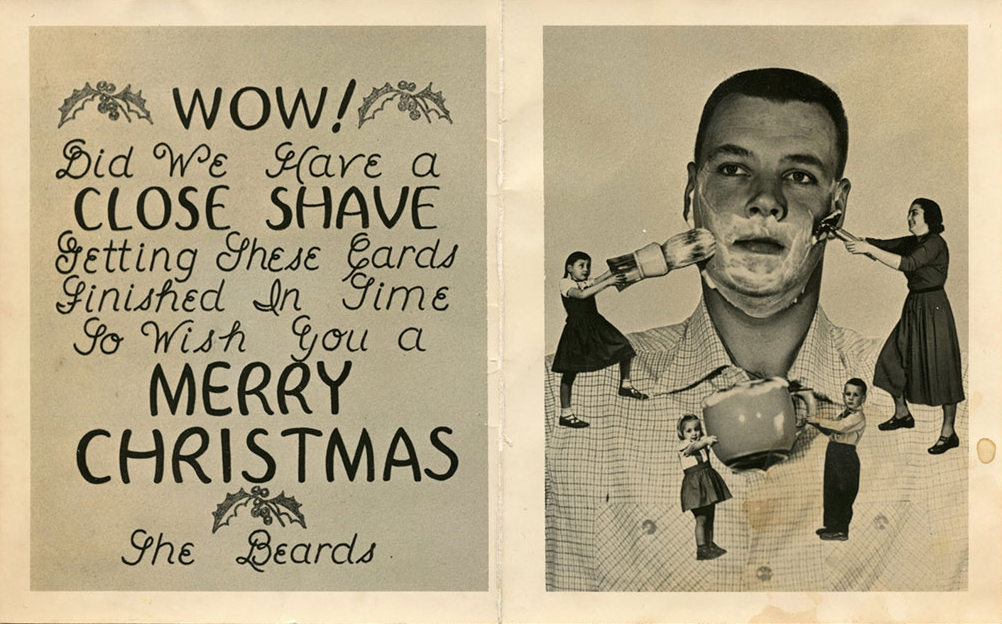 These bizarre do it yourself family christmas cards from the 1950s these bizarre do it yourself family christmas cards from the 1950s and 1960s as youve never seen before solutioingenieria Choice Image
