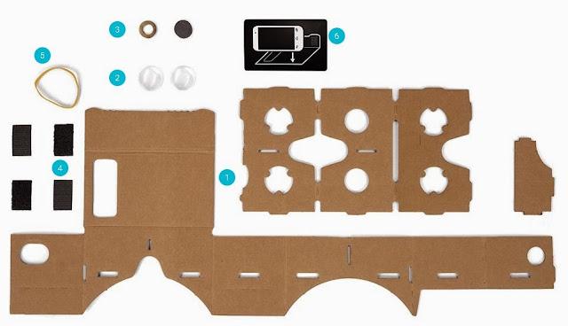 Cara Membuat Google Cardboard Sendiri Dengan Mudah