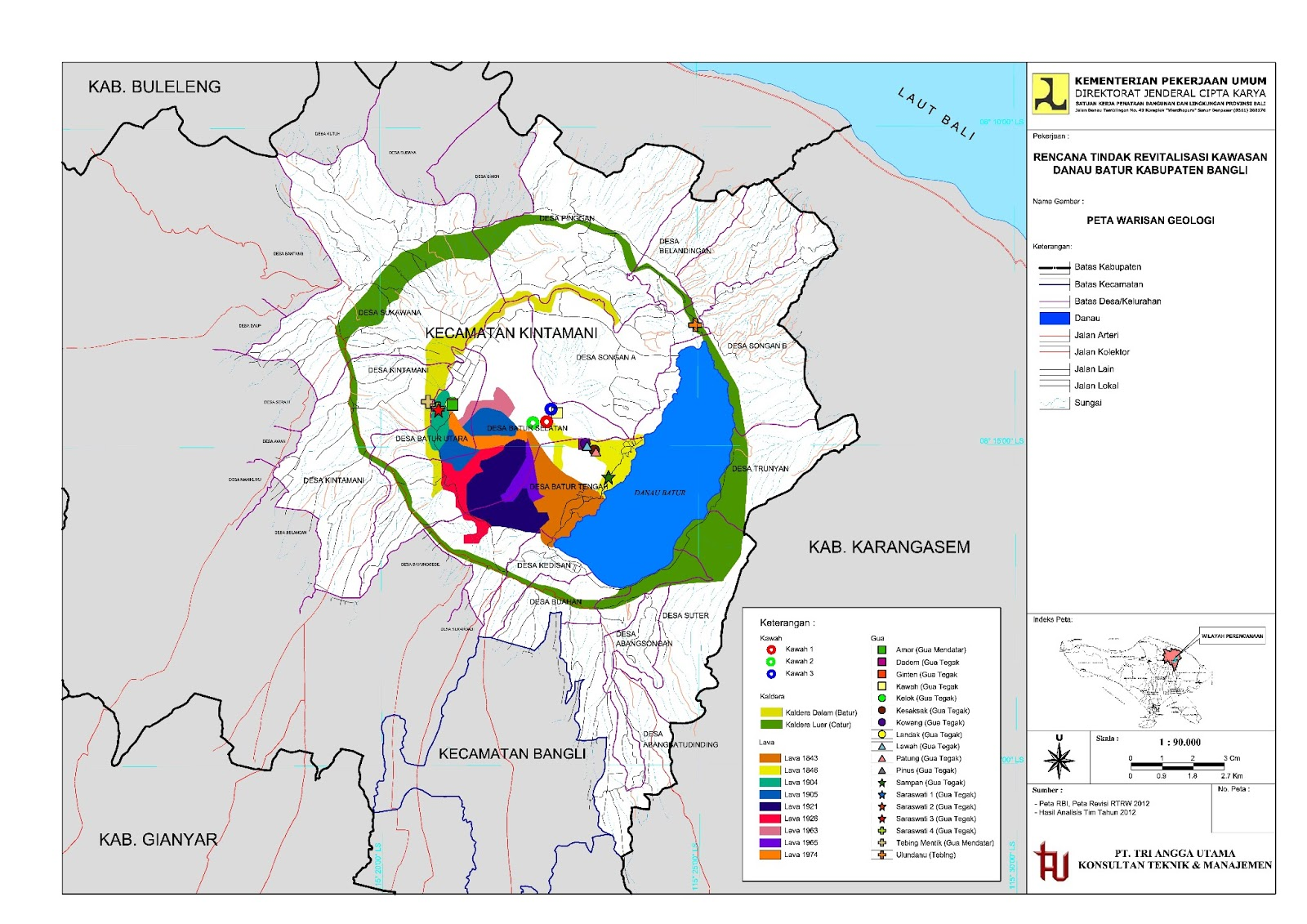 Geopark Kaldera Batur, Sebuah Prospek ? atau Simbol ? | A ...