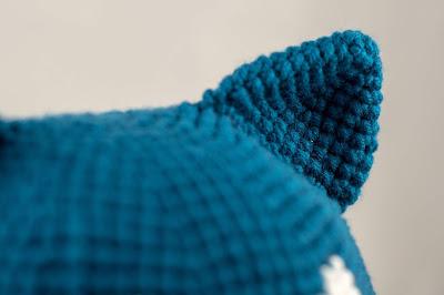 Pokemon Snorlax Hat Free Crochet Pattern