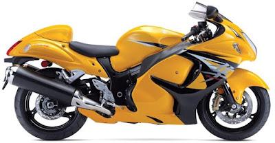 Suzuki Hayabusa yellow color image