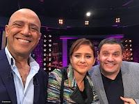 برنامج عيش الليلة 16/2/2017 الحلقة5 إدوارد و نيللى كريم