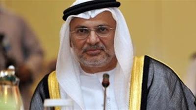 وزير الدولة الاماراتى للشئون الخارجية أنور قرقاش