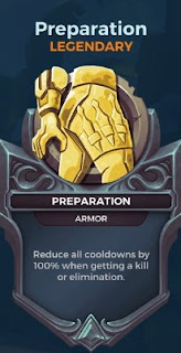 preparation legendary card paladins