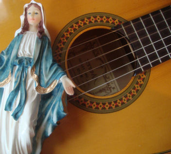 Hail Holy Queen Lyrics and Guitar Chords