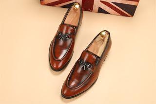 Sepatu Pantofel Model Korea Pria Terbaru Mei 2016