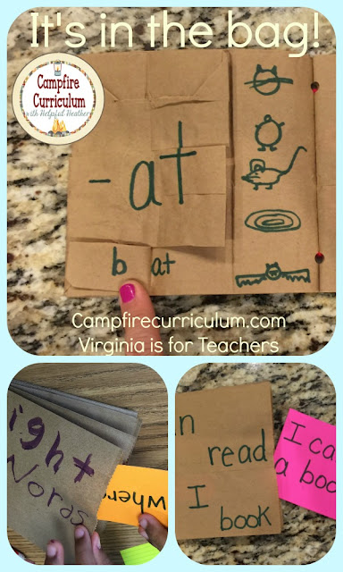 Looking for new ways to engage your students? Try these bag books for a hands on approach for teaching sight words and word families. This post explains how they're made and used.