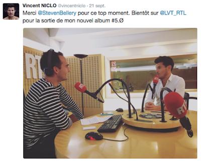 Laissez vous tentez RTL Steven Bellery Vincent Niclo