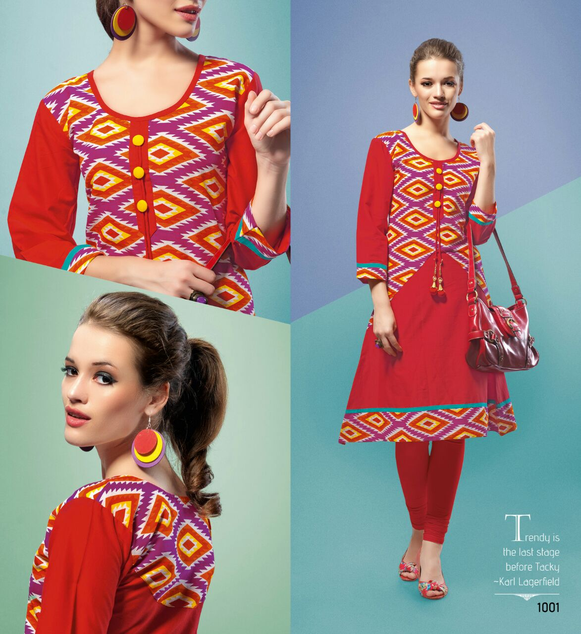 Joy Vol 1 – Unique Cotton Kurti Wholesale Rate Buy Online