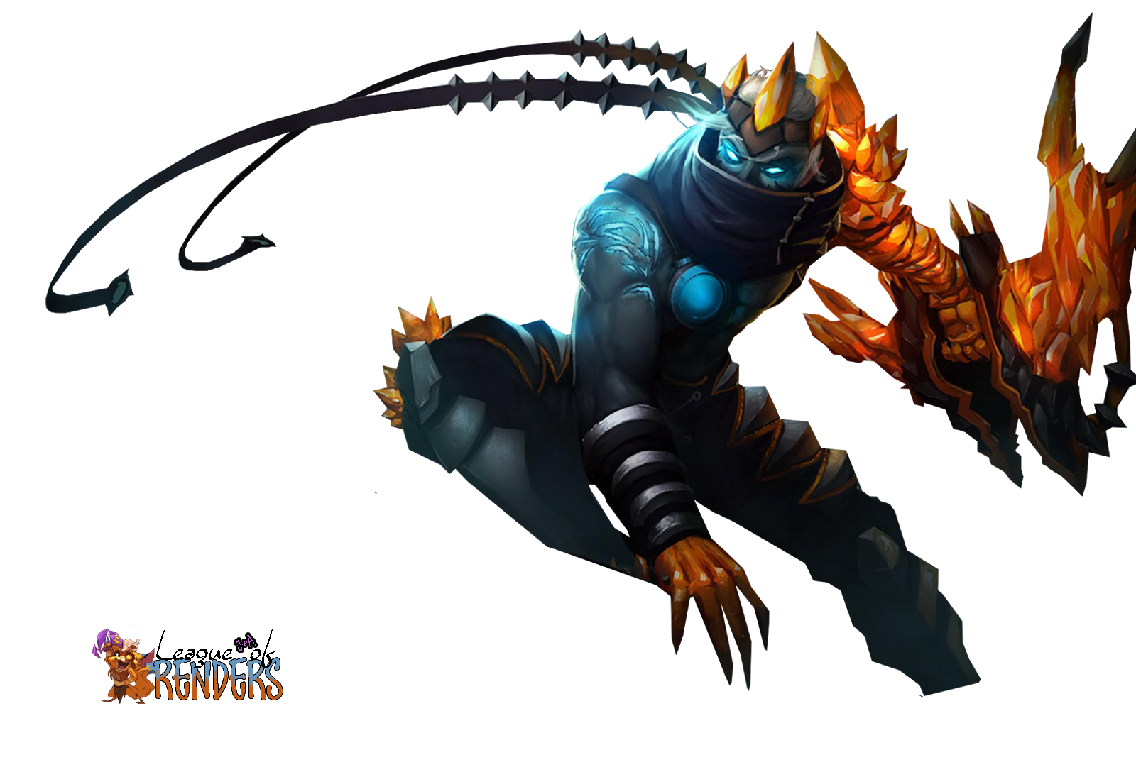 RENDER SKIN Varus Blight Crystal V2