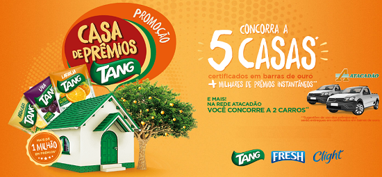 """Promoção: """"Casa de prêmios Tang"""""""