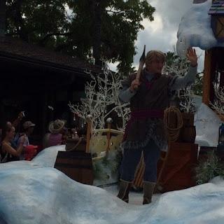 Kristoff Frozen Parade Disney's Hollywood Studios