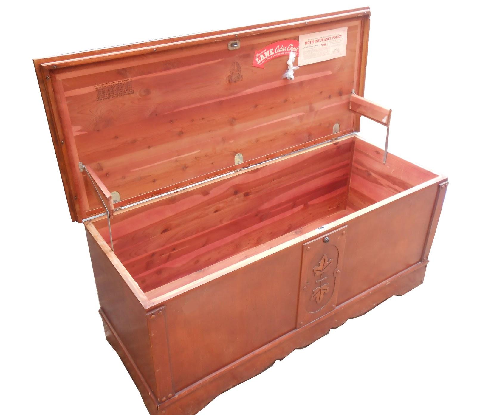 Uhuru Furniture & Collectibles: Vintage Lane Cedar Chest- SOLD
