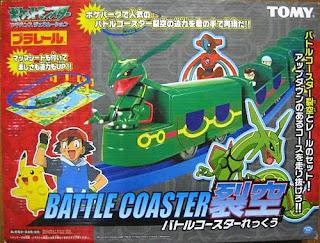 Tomy Plarail Battle Coaster Rayquaza