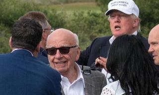 Rupert Murdoch Secretly Sat In On Interview With Donald Trump