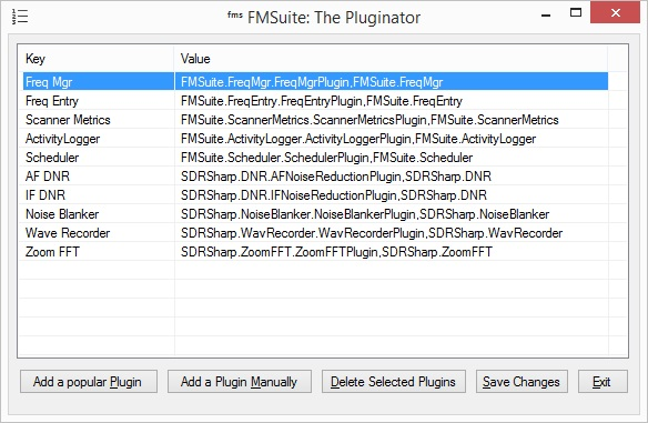 Frequency Manager Suite: The Pluginator User's Guide