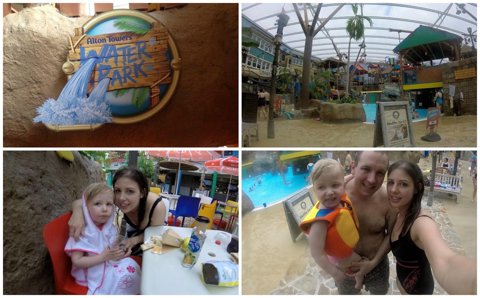 alton towers review waterpark