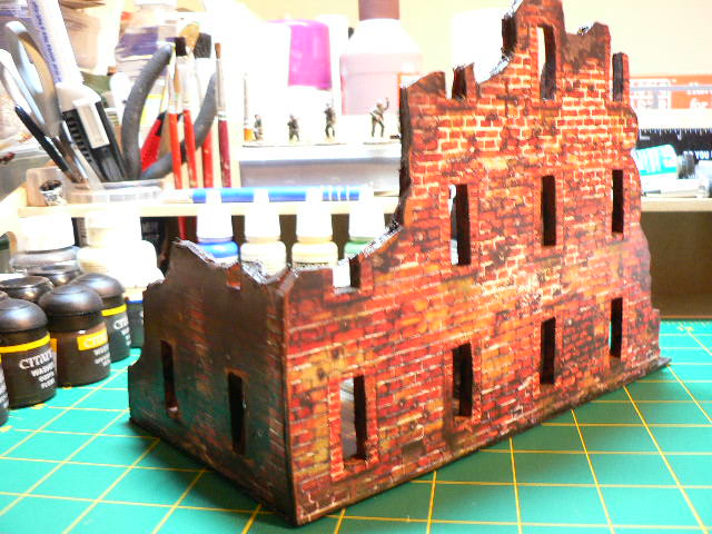 Monty's Wargaming : Dave Graffam Card Buildings