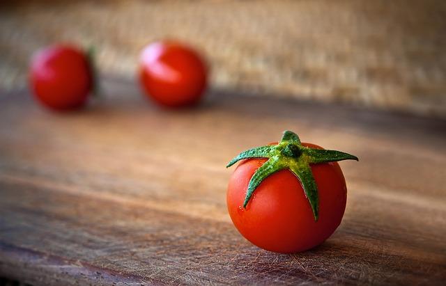 tomates bien rouges