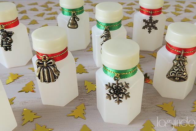 pomperos pompas jabón boda navidad