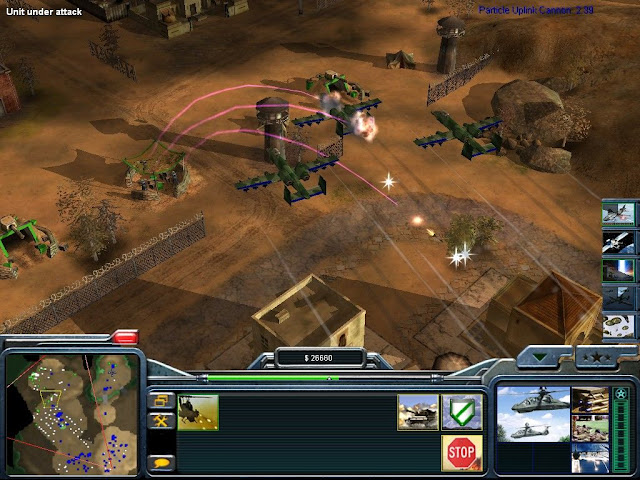 Command and Conquer Generals Zero Hour Free Download Screenshot 2