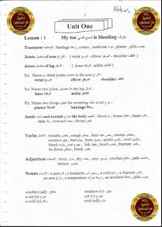 الملزمة الرائعة في اللغة الأنكليزية للصف السادس العلمي للأستاذ محمد فاضل الحميري 2016 - 2017