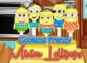 Cooking Frenzy Minion Lollipops juego