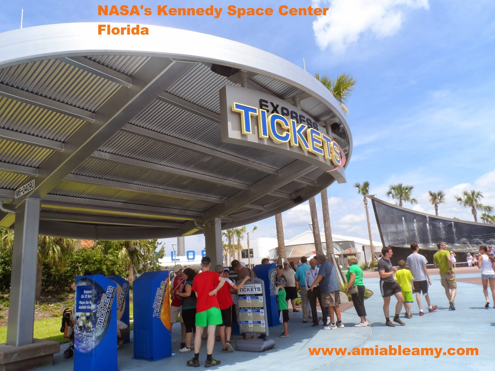 BEYOND PHOTOGRAPHY: NASA's Kennedy Space Center : Ticket Area