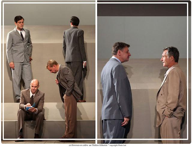 12 hommes en colère au théâtre Hebertot
