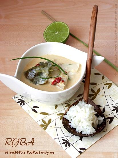 ryba w mleczku kokosowym po azjatycku