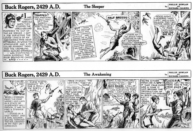 buck orue and comic strip