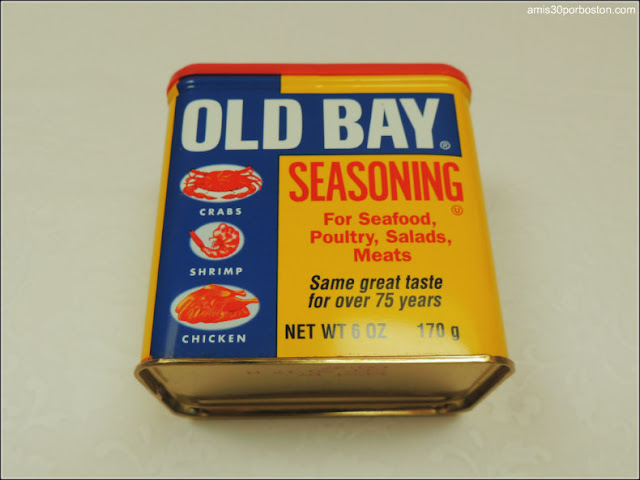 Ingredientes Crab Cakes: Old Bay Seasoning