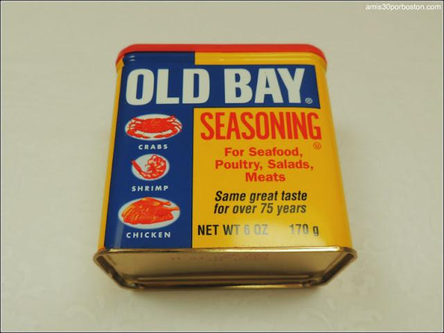 Ingredientes Crab Cakes: Old Bay Seasoning