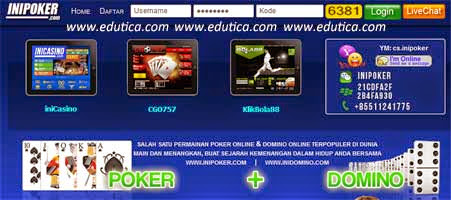 login Inipoker.net Judi Domino 99 Online Terpercaya Indonesia