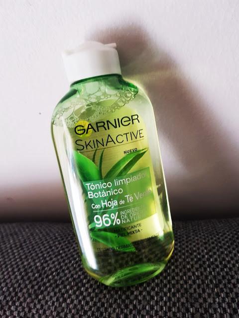 GARNIER SkinActive Gama Botanica con Hoja de Té Verde