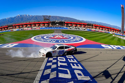 California Kid, Cole Custer Wins at Fontana #NASCAR