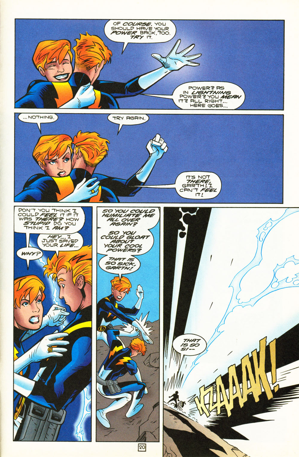 Legion of Super-Heroes (1989) 101 Page 20